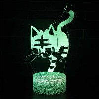 Lampe 3D Pokémon Flamiaou