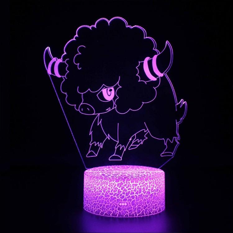 Lampe 3D Pokémon Frison