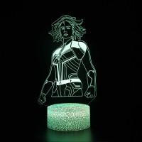 Lampe 3D Captain Marvel