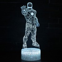 Lampe 3D Iron Man