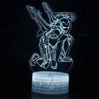 Lampe 3D Iron Man Avengers Endgame