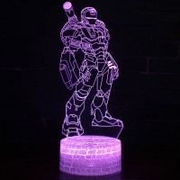Lampe 3D Iron Man missiles