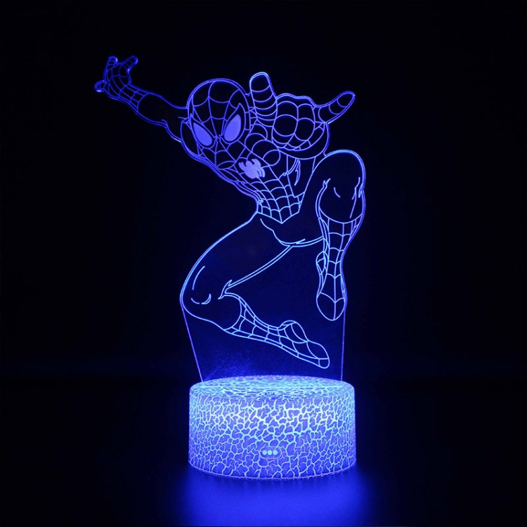 Lampe 3D Spider-Man Avengers