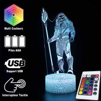 Lampe 3D Aquaman Justice League caractéristiques