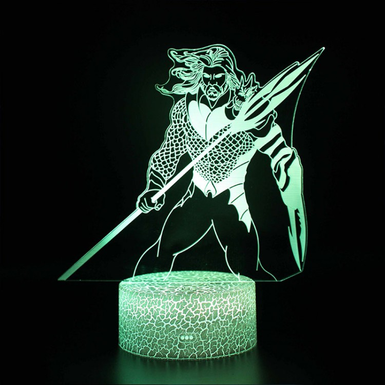 Lampe 3D Aquaman