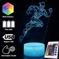 Lampe 3D Flash caractéristiques