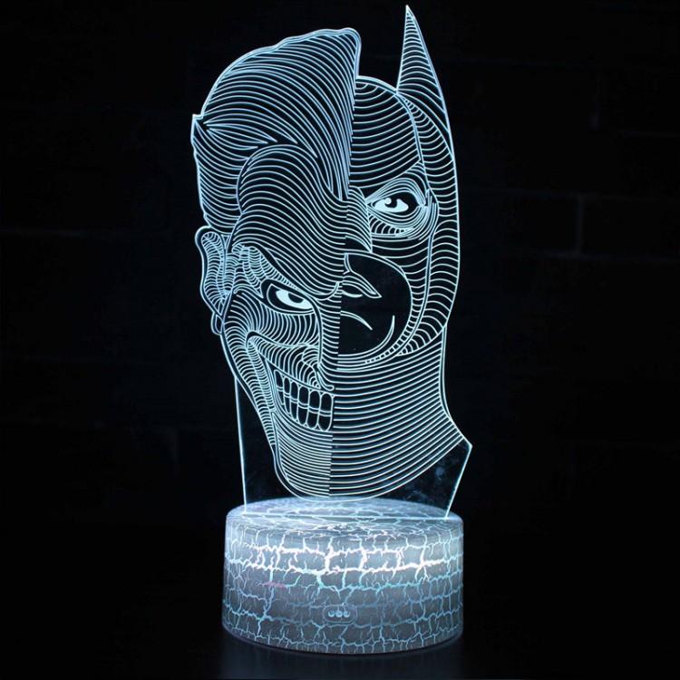 Lampe 3D Joker et Batman
