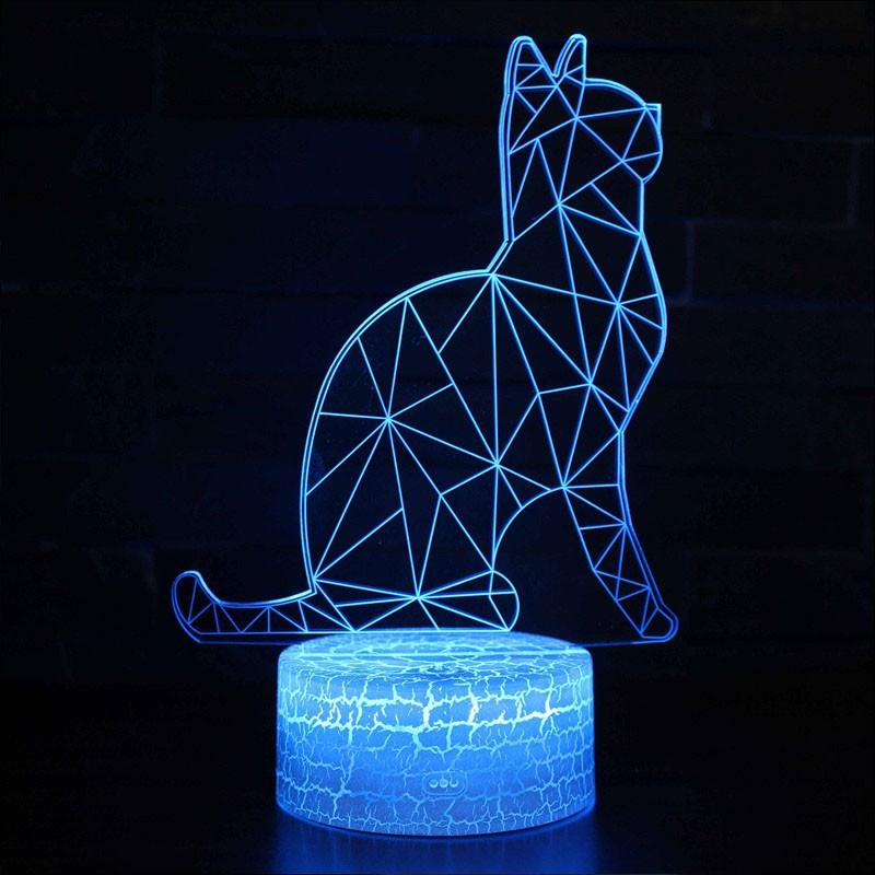 Lampe 3D Chat