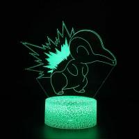 Lampe 3D Pokémon Héricendre
