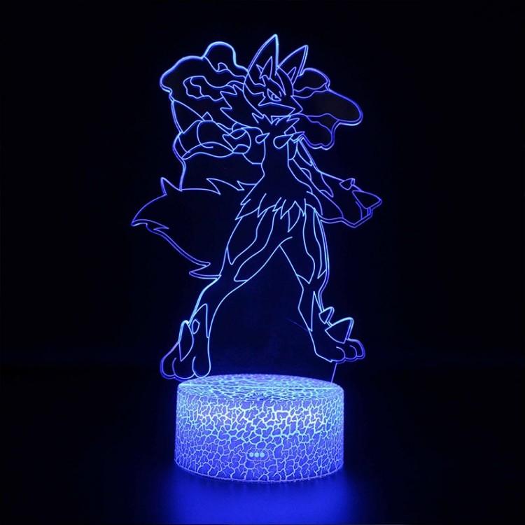 Lampe 3D Pokémon Lucario