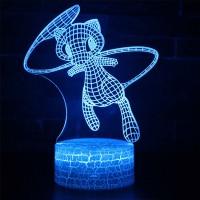 Lampe 3D Pokémon Mew