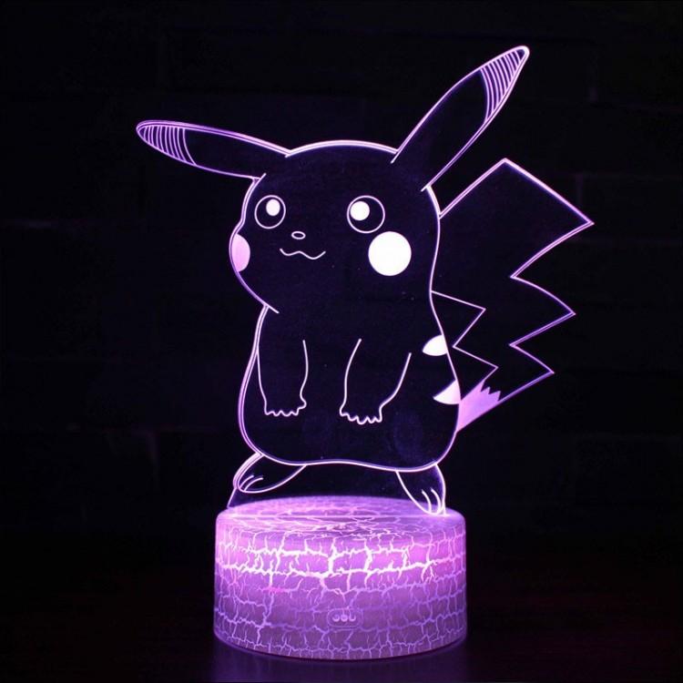Lampe 3D Pokémon Pikachu