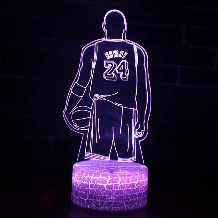 Lampe 3D Kobe Bryant
