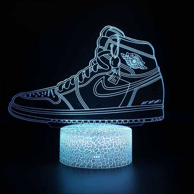 Lampe 3D Basketball : Air Jordan