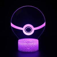 Lampe 3D Pokémon Pokéball