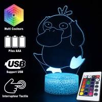 Lampe 3D Pokémon Psykokwak caractéristiques