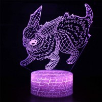 Lampe 3D Pokémon Pyroli