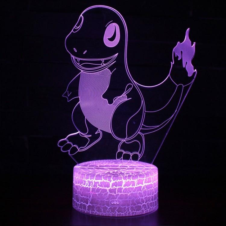 Lampe 3D Pokémon Salamèche