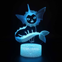 Lampe 3D Pokémon Aquali