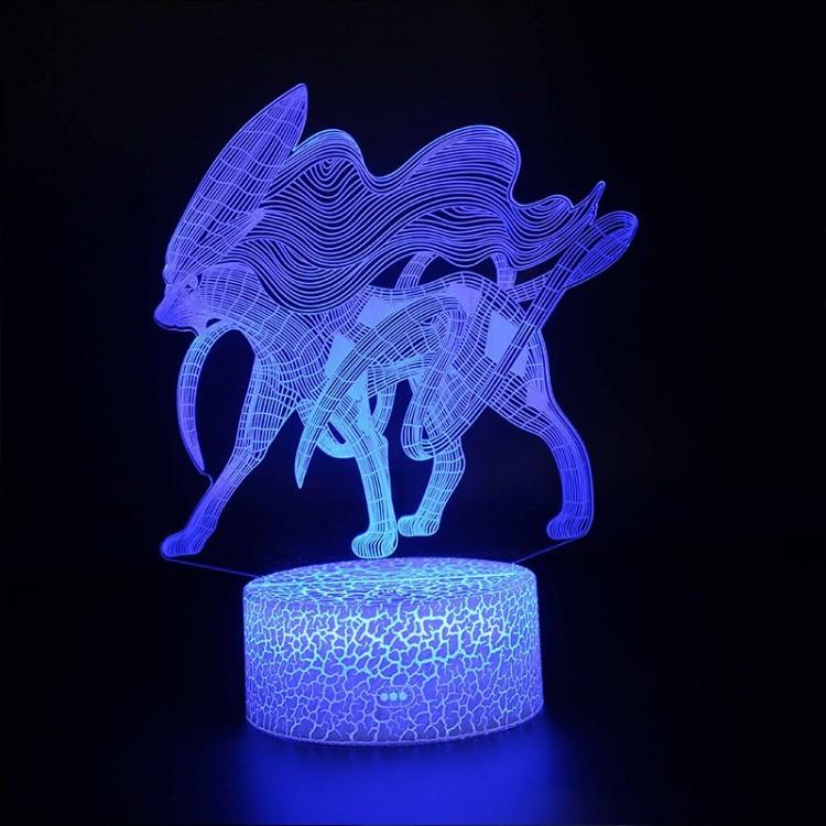 Lampe 3D Pokémon Suicune