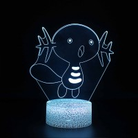 Lampe 3D Pokémon Axoloto