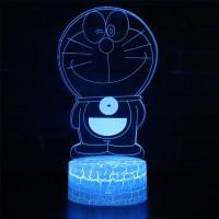 Lampe 3D Doraemon