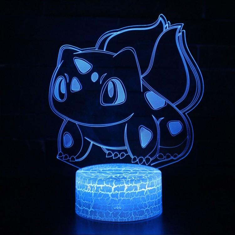 Lampe 3D Pokémon Bulbizarre