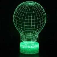 Lampe 3D Illusion d'Optique Bulbe