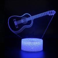 Lampe 3D Musique Guitare classique