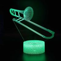 Lampe 3D Musique Trombone