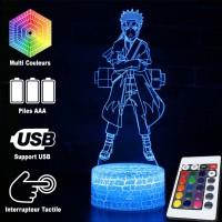 Lampe 3D Naruto Nanadaime Hokage (Septième Hokage) caractéristiques