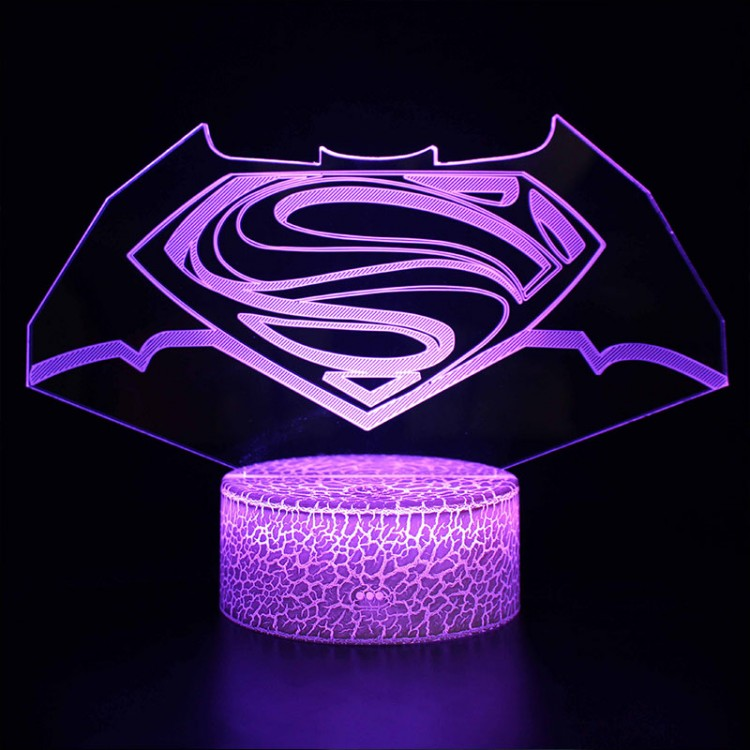 Lampe 3D Batman V Superman