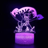 Lampe 3D Minato Namikaze Yondaime Hokage