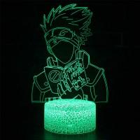 Lampe 3D Kakashi Hatake livre