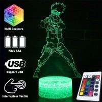 Lampe 3D Kakashi Hatake caractéristiques