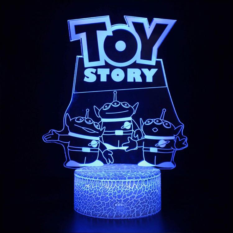 Lampe 3D Toy Story 3 Aliens