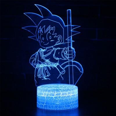 Lampe 3D Sangoku enfant Dragon Ball