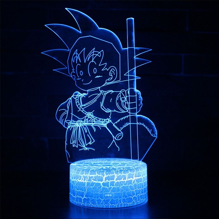 Lampe 3D Sangoku enfant Dragon Ball