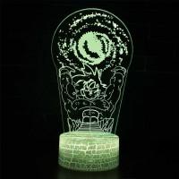Lampe 3D Sangoku boule d'énergie