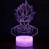 Lampe 3D Sangoku Super Saiyan