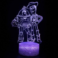 Lampe 3D Buzz Woody Toy Story