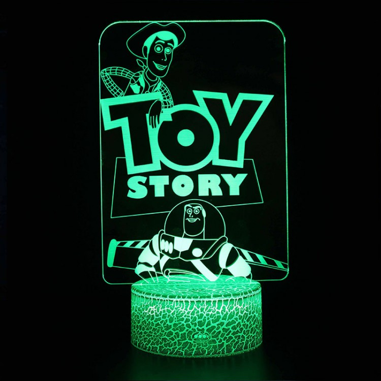 Lampe 3D Toy Story Woody Buzz
