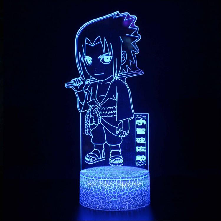 Lampe 3D Sasuke Naruto Caractéristique
