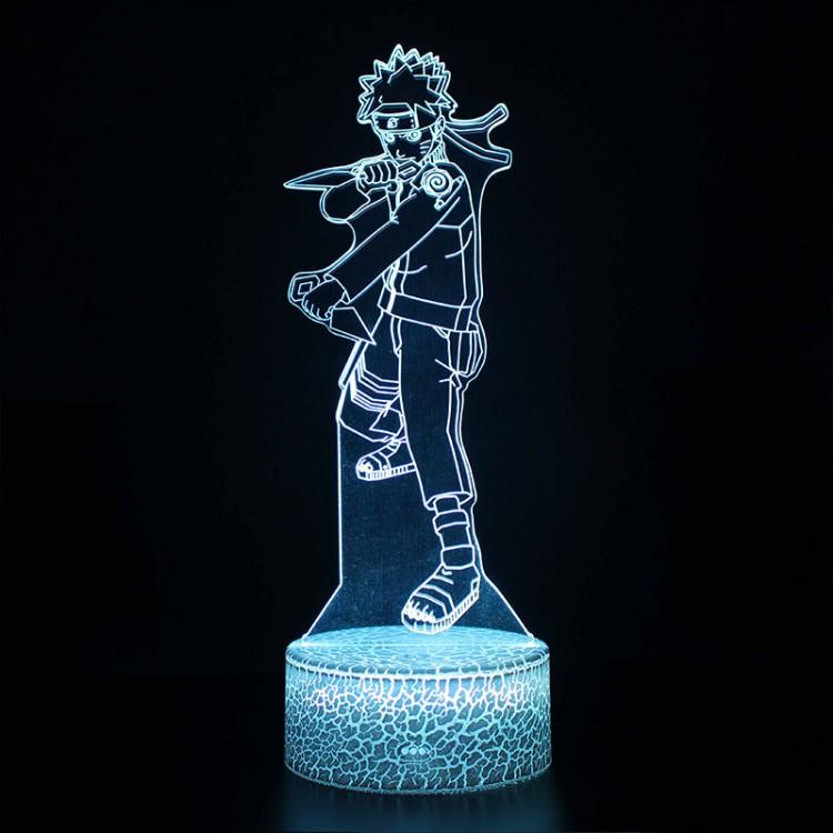 Lampe 3D Naruto Combat
