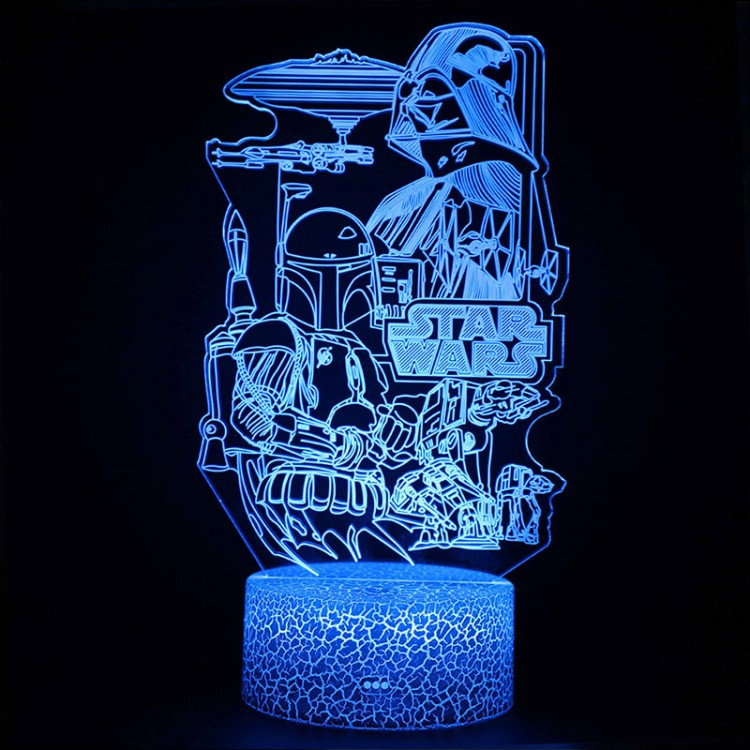 Lampe 3D Ambiance Star Wars