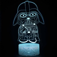 Lampe 3D Dark Vador Cartoon