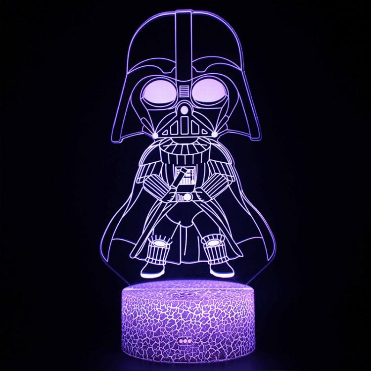 Lampe 3D Darth Vador