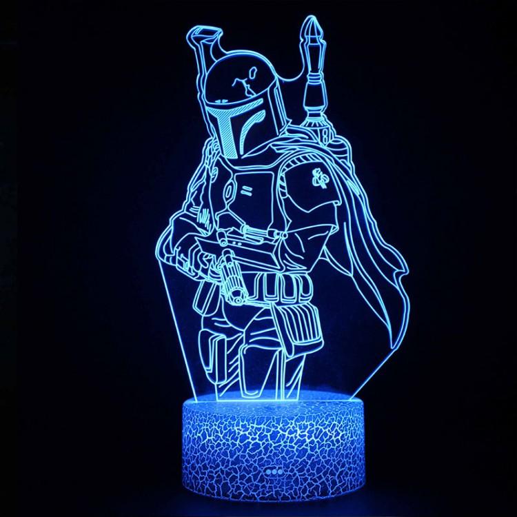 Lampe 3D Boba Fett Star Wars