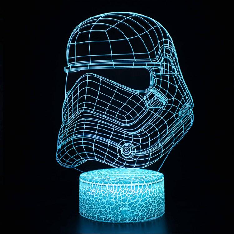 Lampe 3D Casque Stormtrooper