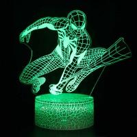 Lampe 3D Spiderman